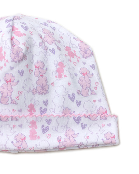 Kissy Kissy Oodles of Poodles Pima Baby Hat