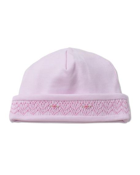 Kissy Kissy Fall Bishop Smocked Baby Hat