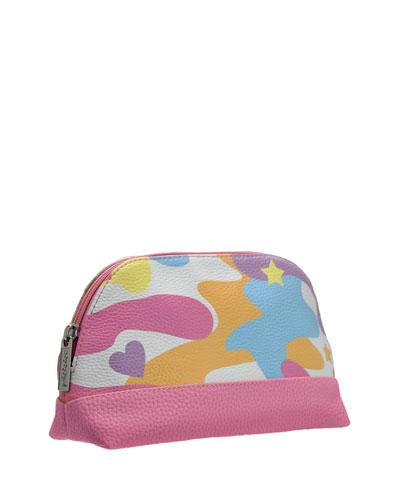 Rainbow Camo Cosmetic Bag