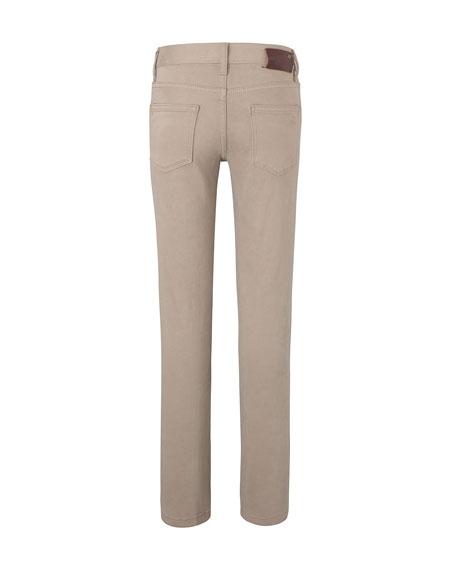 DL1961 Premium Denim Boy's Brady Slim Pants, Size 2-7