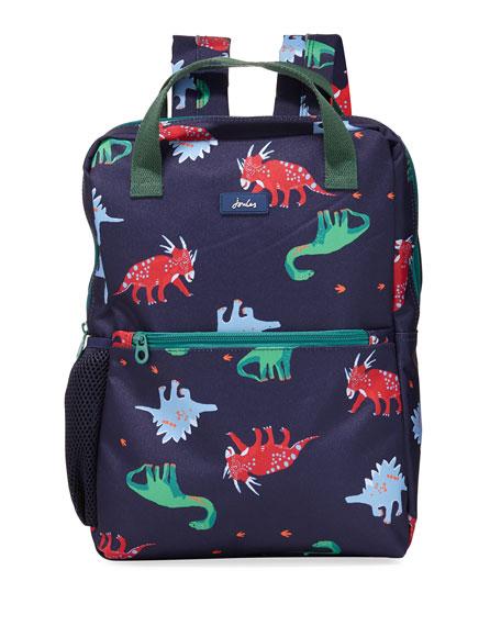 Joules Kid's Dinosaur Print Backpack