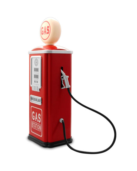 Image 2 of 5: Gas Station Pump for Toy Cars