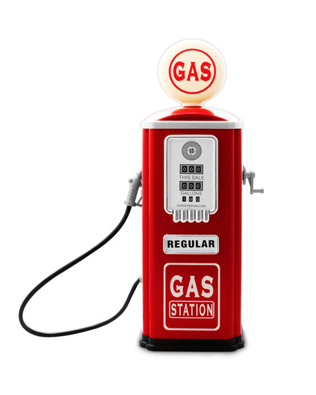 Image 1 of 5: Gas Station Pump for Toy Cars