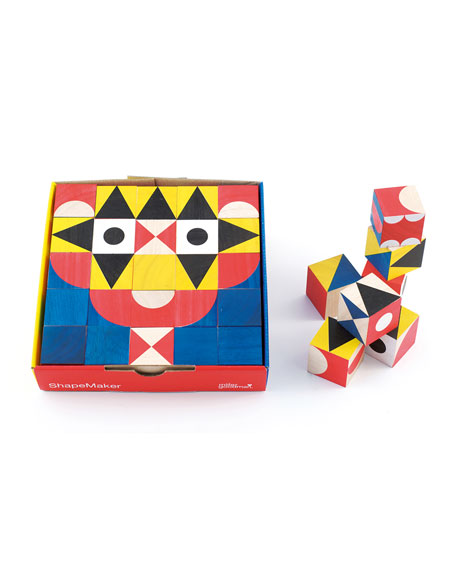 MillerGoodman Shapemaker Wooden Block Set