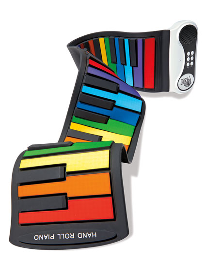 Mukikim Kids' Rock and Roll It Rainbow Piano Toy