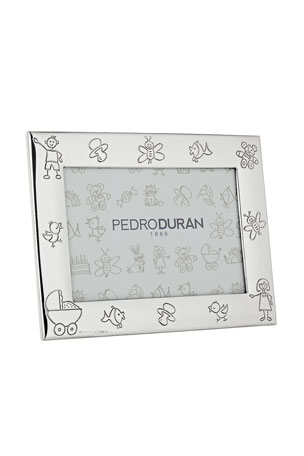 "Pedro Duran Doodle Horizontal Picture Frame, 6"" x 4"""