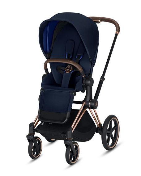 Cybex Priam One Box Stroller, Indigo Blue