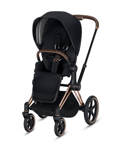 Cybex Priam One Box Stroller, Premium Black
