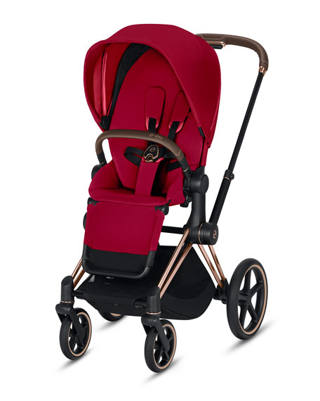 Cybex Priam One Box Stroller, True Red