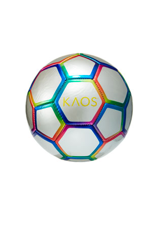 Kaos Chrome Rainbow Soccer Ball