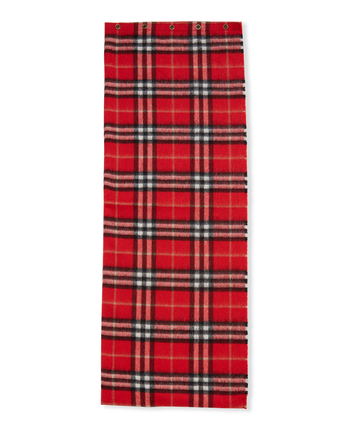 Kid's Vintage Check Cashmere Snood Scarf by Burberry