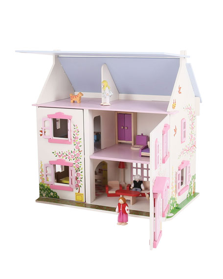 Bigjigs Toys Rose Cottage Playset