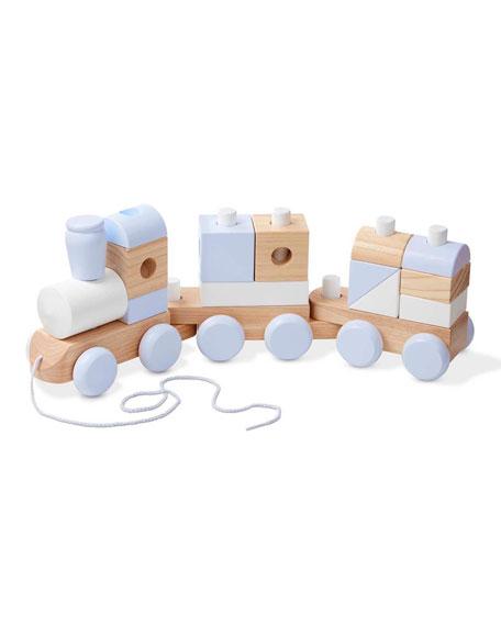 Melissa & Doug Jumbo Stacking Train Toy Set