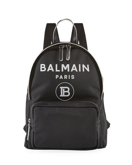 Balmain Kid's Logo Backpack