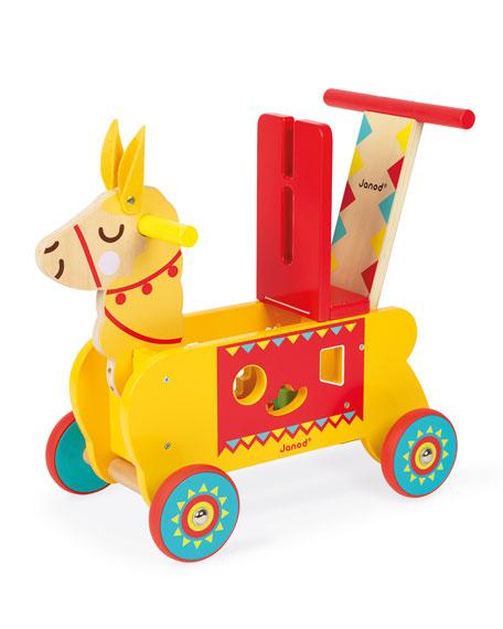 Juratoys Llama Ride-On Toy