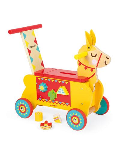Llama Ride-On Toy