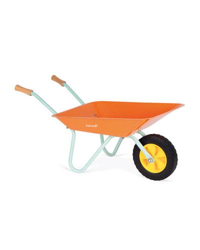 Kid's Metal Wheelbarrow w/ Shovel & Rake