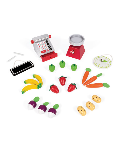 Juratoys Green Market Grocery Play Set