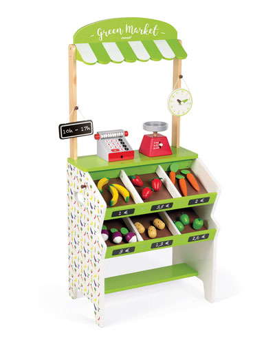 Green Market Grocery Play Set