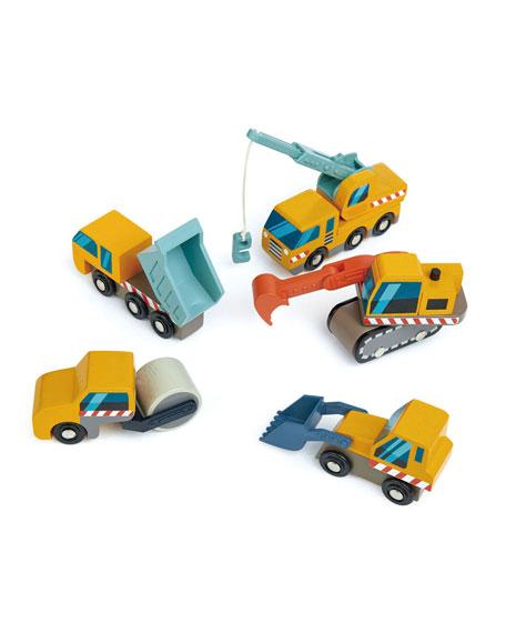 Tender Leaf Toys Construction Site Play Set
