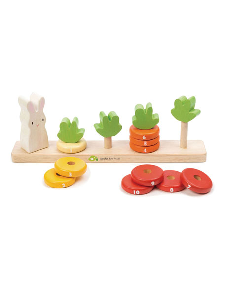 Image 2 of 2: Tender Leaf Toys Counting Carrots Toy