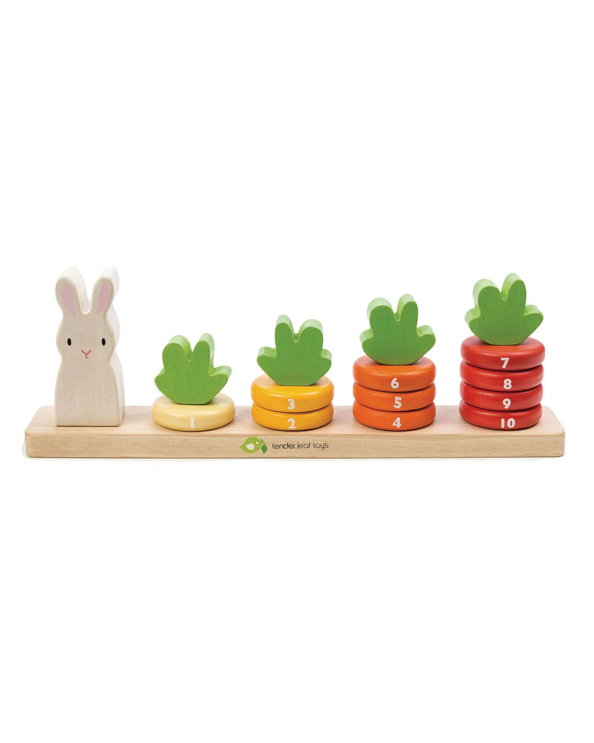 Tender Leaf Toys Counting Carrots Toy