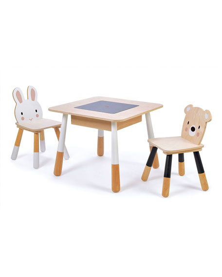 Tender Leaf Toys Forest Table & Chairs Play Set