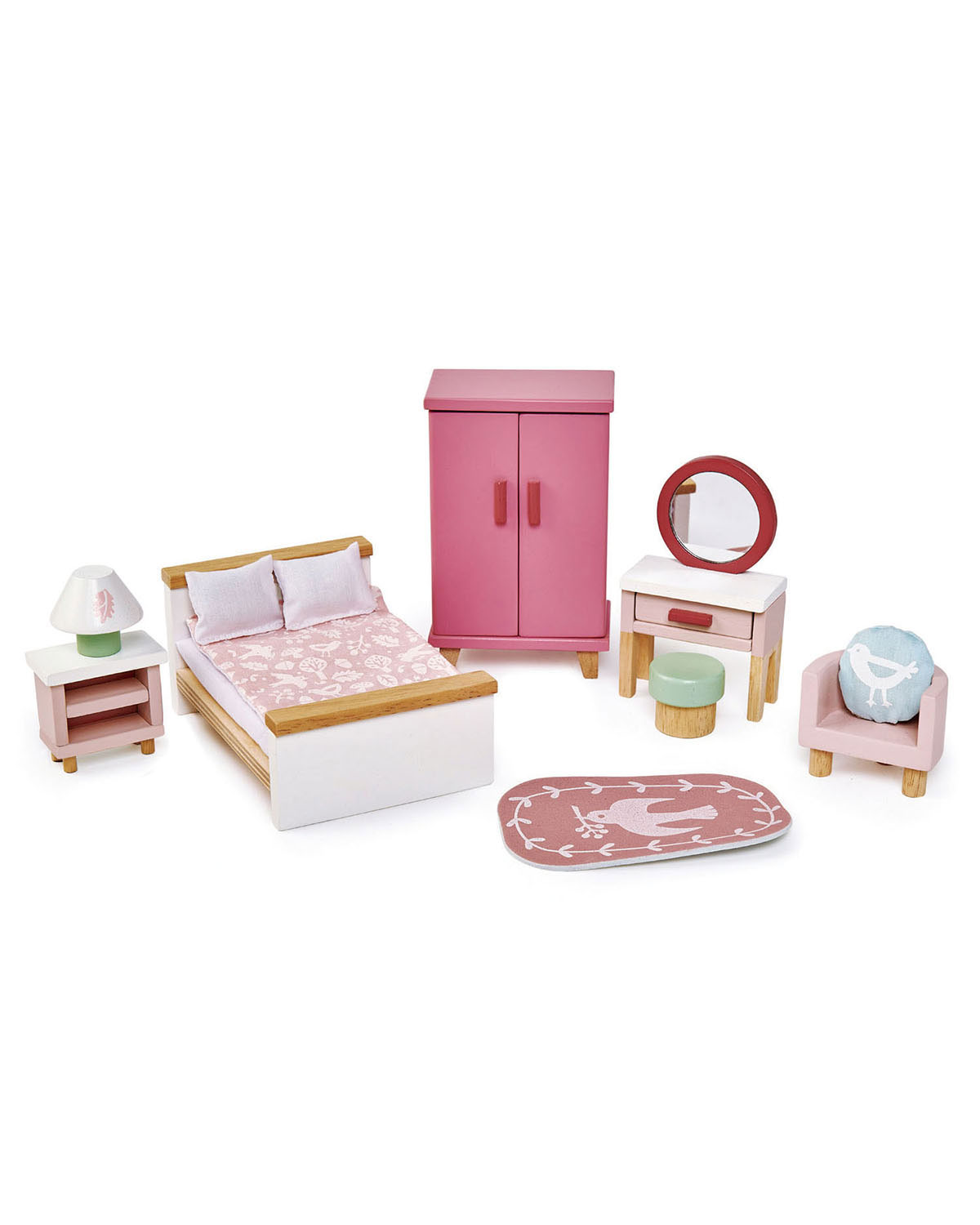 Tender Leaf Toys Dovetail Bedroom Play Set