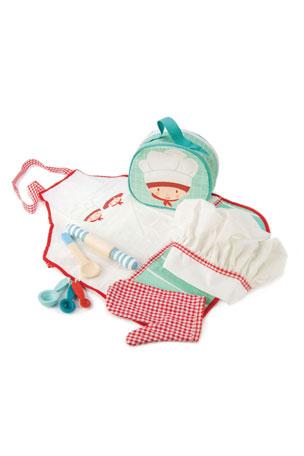 Tender Leaf Toys Chef's Bag Dress Up Play Set