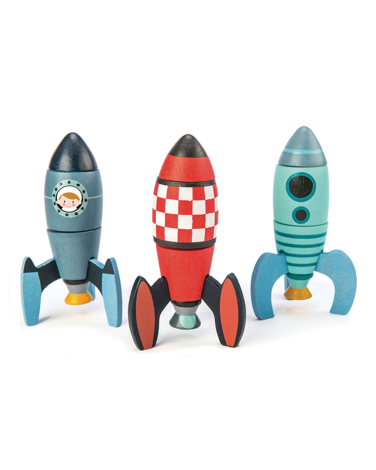 Tender Leaf Toys Rocket Construction Play Set