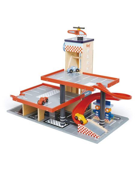 Tender Leaf Toys Bluebird Service Station Play Set