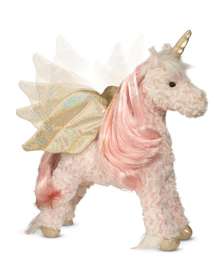 Douglas Hope Light-Up Unicorn with Sound