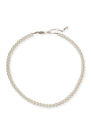 Helena Girl's Classic Pearl Necklace