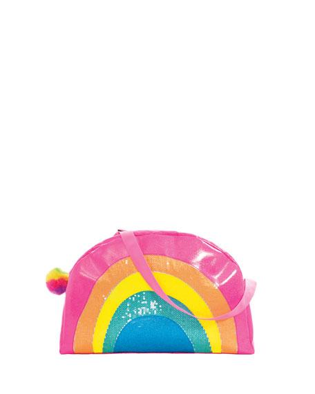 Iscream Kid's Rainbow Overnight Bag