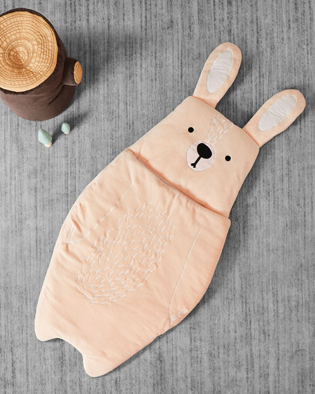 Image 2 of 2: ASWEETS Kid's Bunny Sleeping Bag