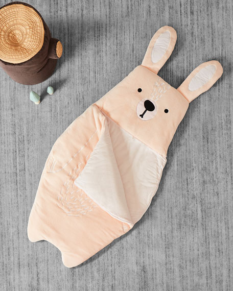 Image 1 of 2: ASWEETS Kid's Bunny Sleeping Bag