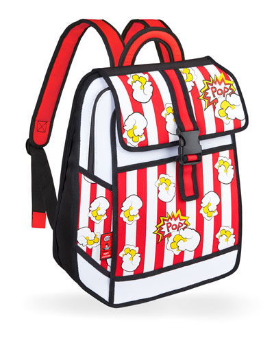 Kid's Pop Art Popcorn Backpack