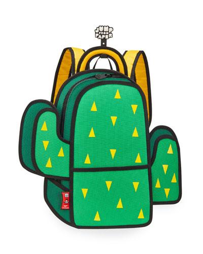 Kid's Pop Art Cactus Backpack