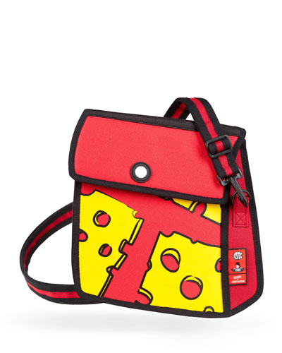 Kid's Pop Art Cheese Shoulder Bag