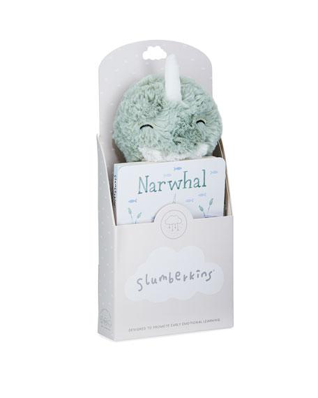 Slumberkins Narwhal Snuggler Bundle
