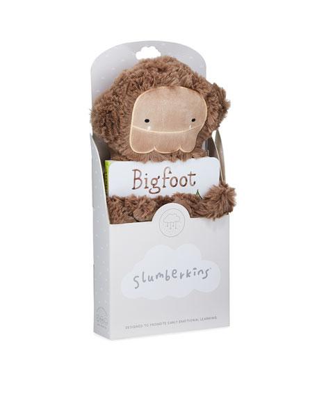 Slumberkins Bigfoot Snuggler Bundle