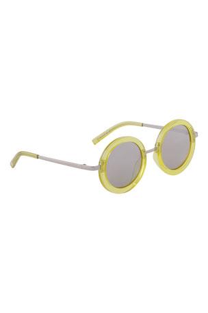 Molo Kid's Shakira Round Sunglasses