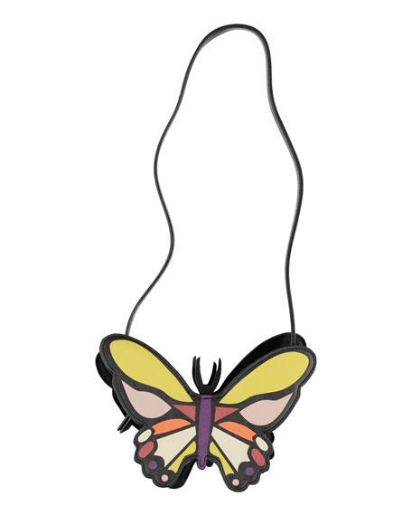 Molo Girl's Butterfly Crossbody Bag