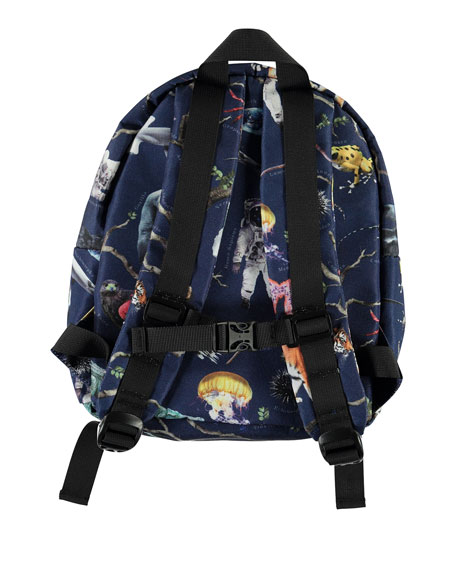Image 2 of 2: Kid's Tree of Life Print Backpack