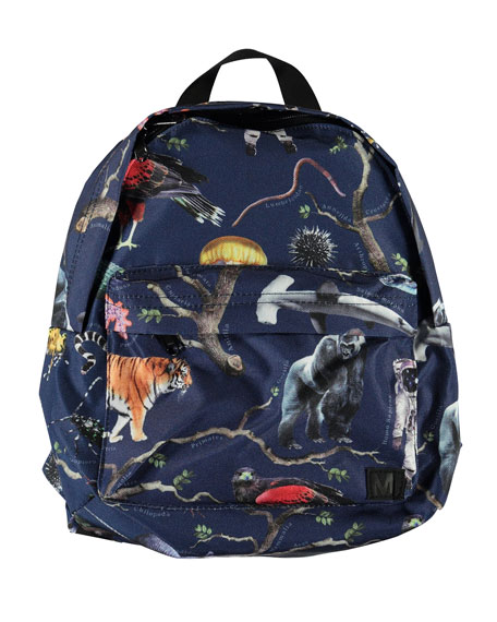 Image 1 of 2: Kid's Tree of Life Print Backpack