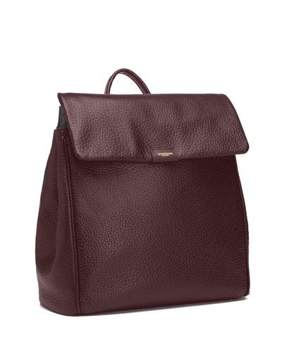 St. James Leather Diaper Bag