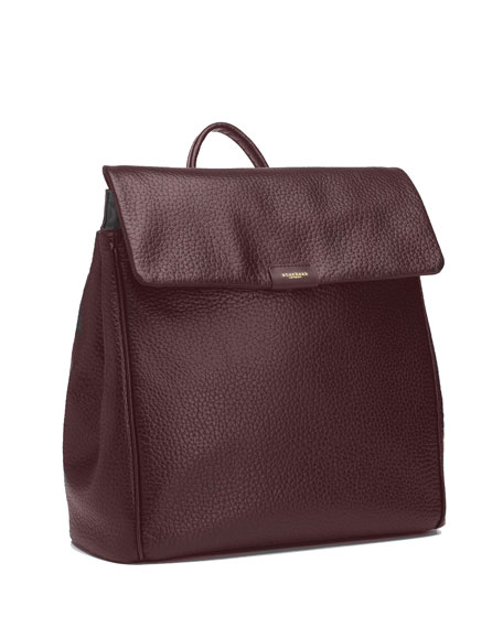 Storksak St. James Leather Diaper Bag