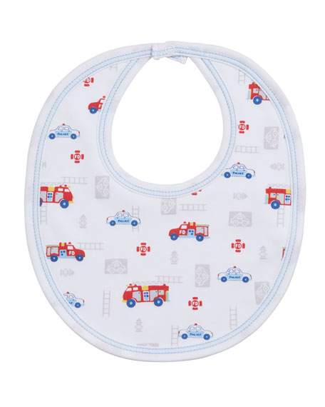 Kissy Kissy Rescue Team Pima Bib