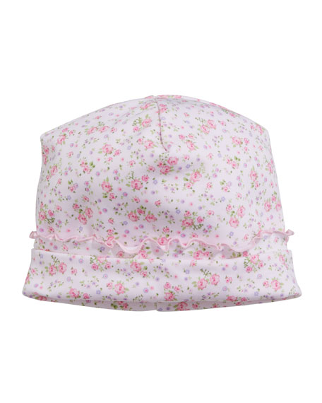 Kissy Kissy Dusty Rose Pima Baby Hat