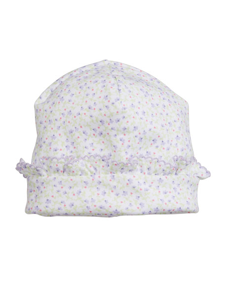 Kissy Kissy Spring Whispers Ruffle Baby Hat